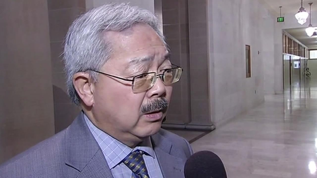 San Francisco Mayor Ed Lee at City Hall