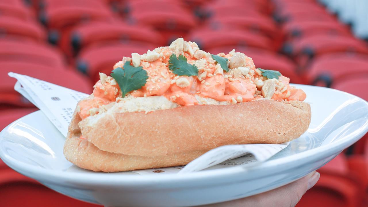 Shrimp rollPhoto courtesy Kevin McCullough