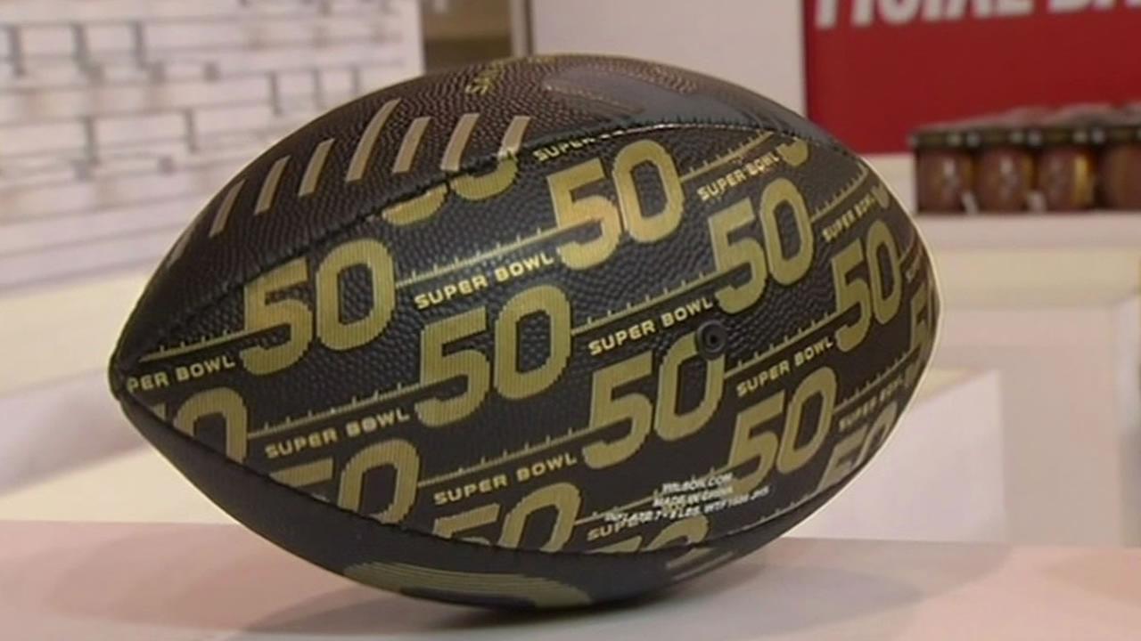 NFL football for Super Bowl 50