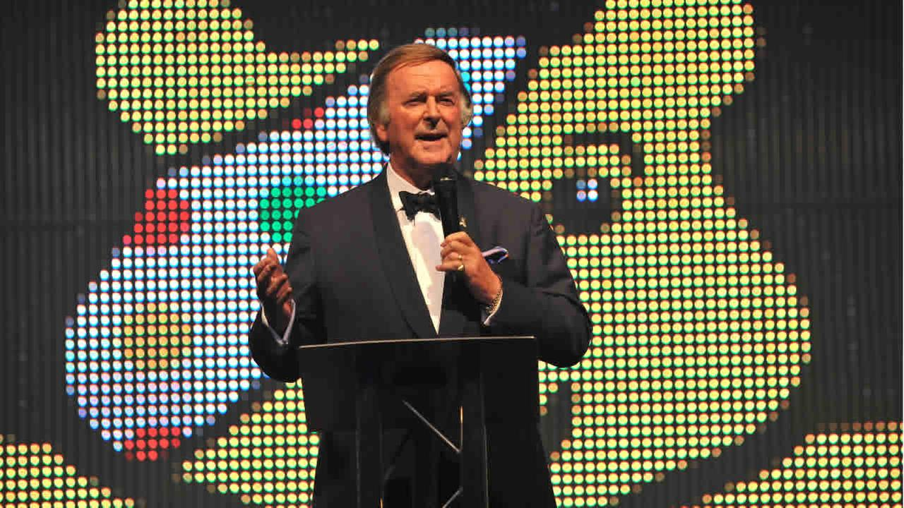 Sir Terry Wogan seen at An Evening With The Stars In Aid Of Children In Need, on Wednesday 16th October 2013 in London.