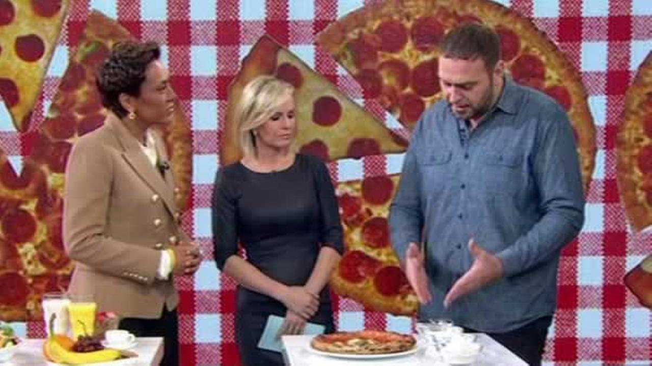 Chef Pasquale Cozzolino explains how he lost weight while eating pizza every day on Good Morning America on Wednesday, February 3, 2016.