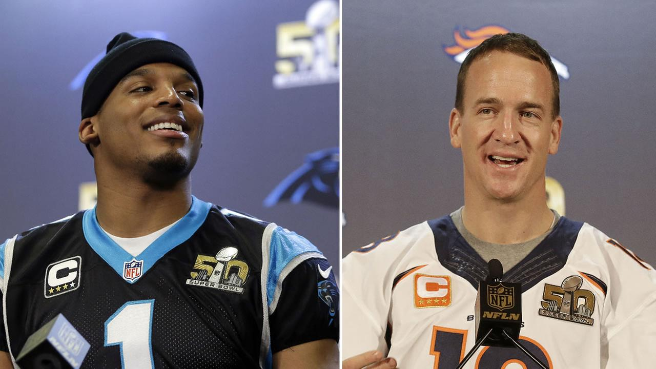 Denver Broncos Peyton Manning is up against the Carolina Panthers Cam Newton in Super Bowl 50 in Santa Clara, Calif. on Sunday, February 7, 2016.