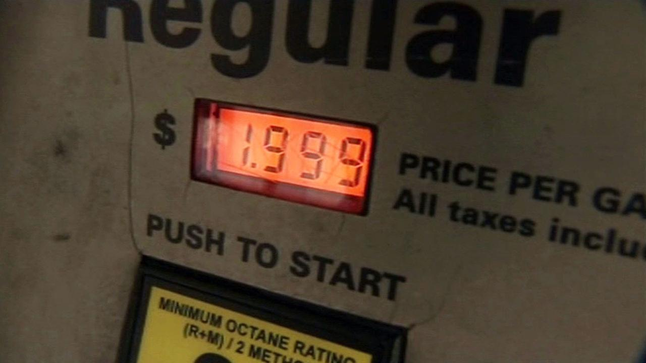 Cheap gas found at station in Bay Area, Monday, February 8, 2016.
