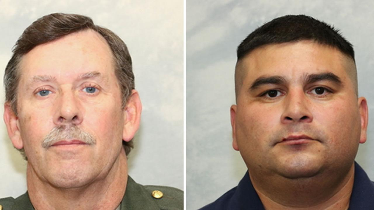 Tulare County Sheriffs Deputy Scott Ballantyne, 52, and Sheriffs pilot James Julio Chavez, 45, were killed in plane crash in Tulare County Feb. 10, 2016.