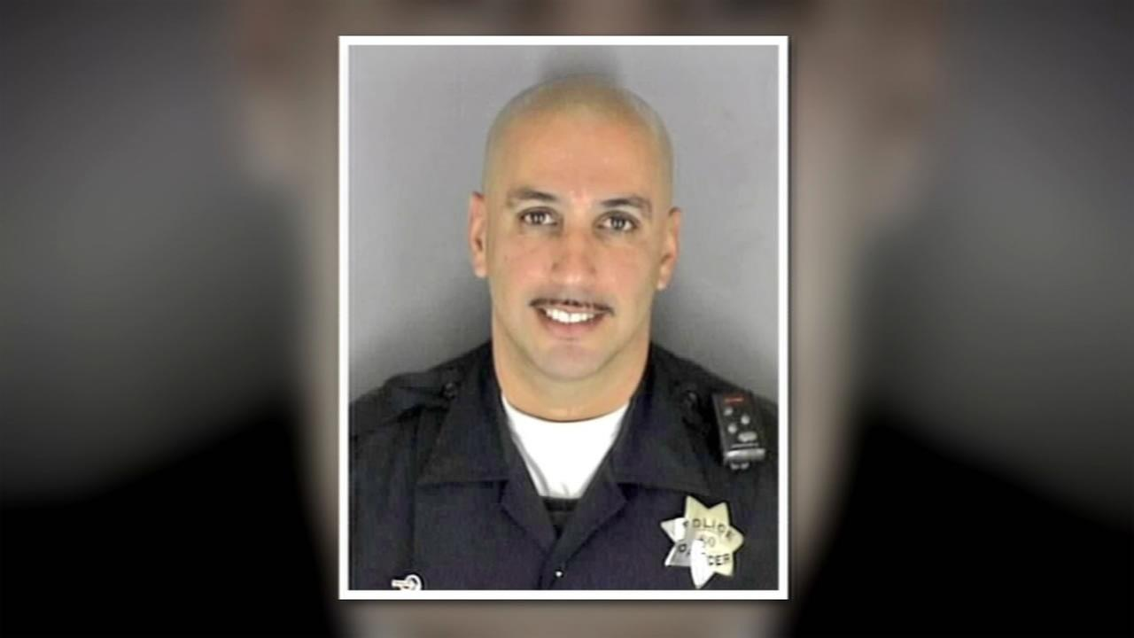Richmond police officer Gus Vegas was fatally shot at his Vallejo home in an alleged domestic violence incident Feb. 11, 2016.