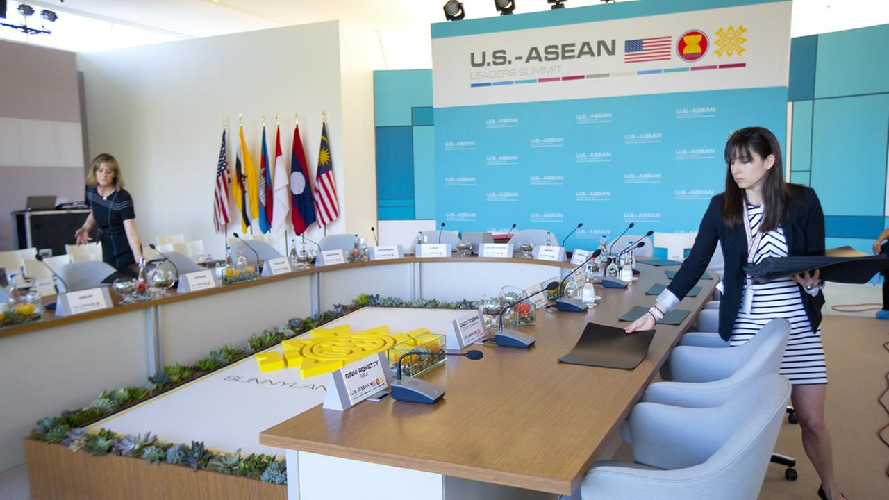 President Obama will host a meeting with ASEAN, the 10-nation Association of Southeast Asian Nations, on Monday, Feb. 15, 2016, in Rancho Mirage, Calif.