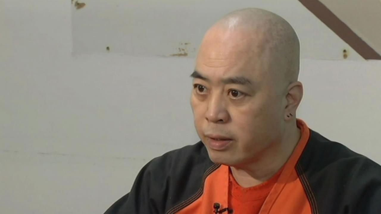 Raymond Shrimp Boy Chow gave an jailhouse interview to ABC7 News Feb. 18, 2016.