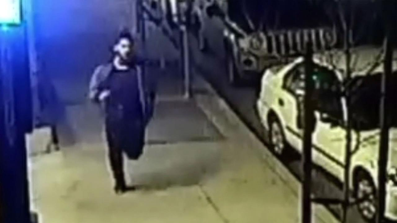 Surveillance video captured a suspect in three sexual assaults near the UC Berkeley campus.