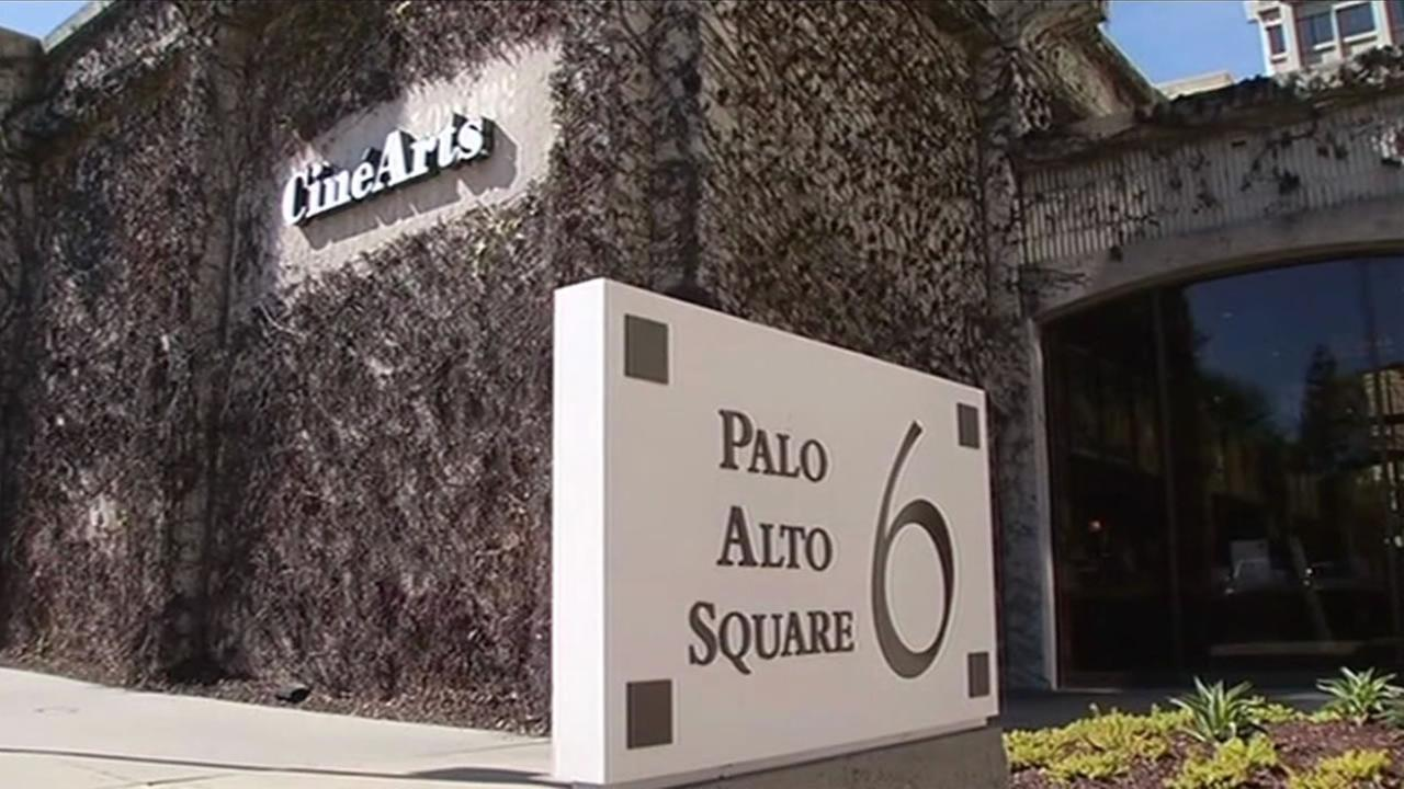 The CineArts movie theater in Palo Alto was robbed Feb. 23, 2015.