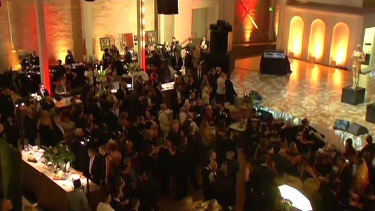 Inside an Oscar party in San Francisco Feb 28, 2016.