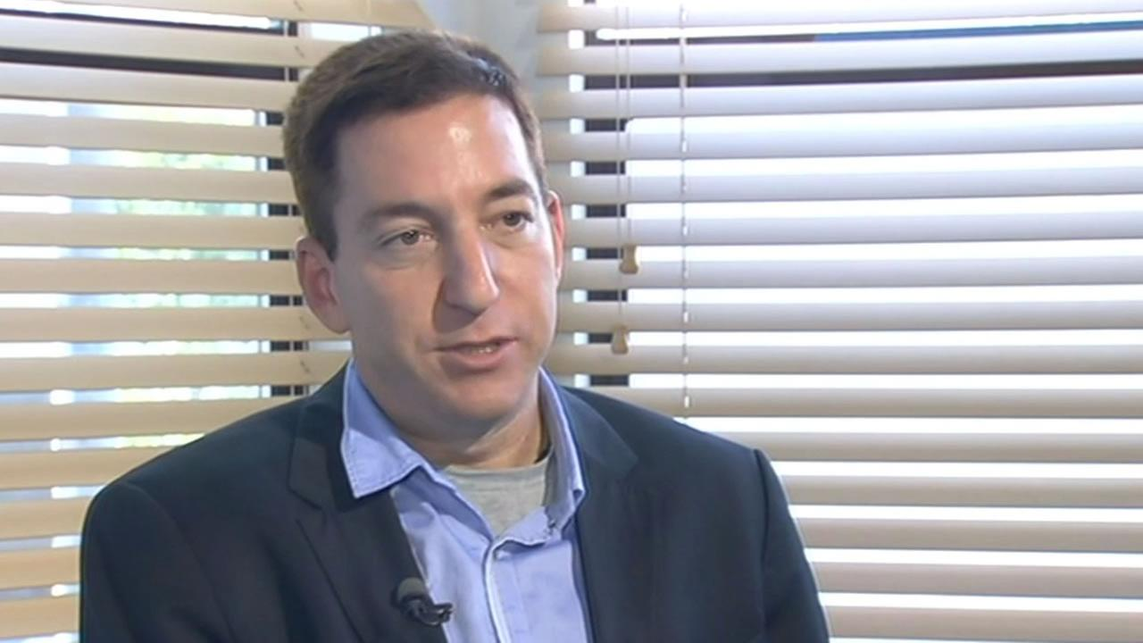 Glenn Greenwald is the journalist who broke the NSA spying story.