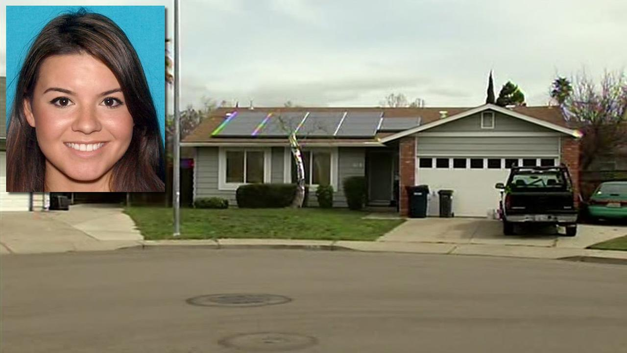 This undated image shows Moriah Gonzales and her home in Livermore, Calif.. The 20-year-old was arrested on February 19, 2016 in connection with a child abuse case.