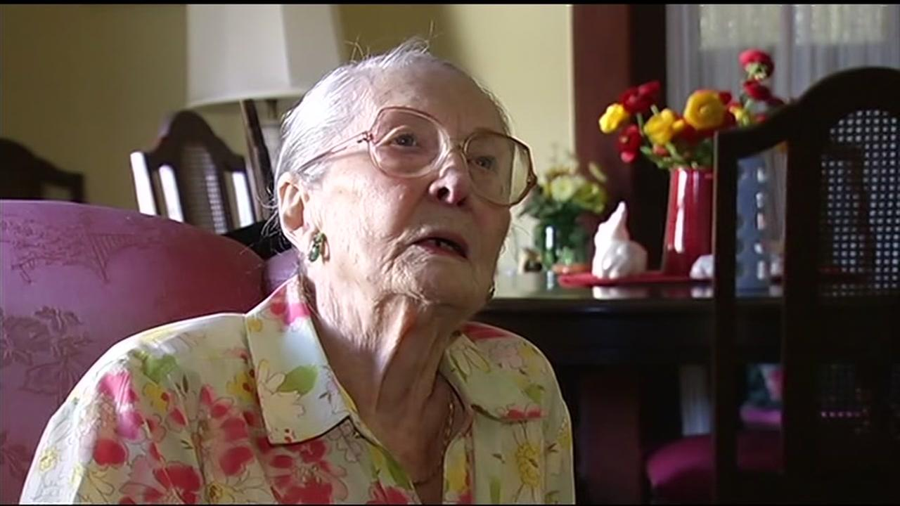 Marie Hatch, 97, died on March 3, 2016 in Burlingame, Calif. Her friends tell ABC7 that she died because of the stress from an eviction battle and a broken promise.
