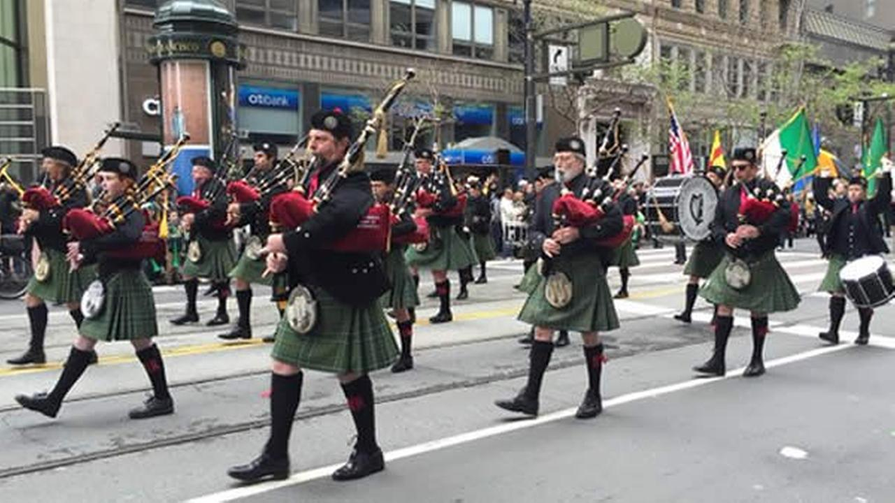 St. Patricks Day Parade in San Francisco on March 12, 2016.