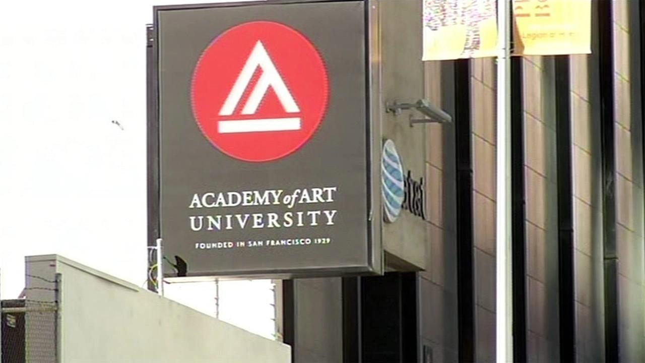 The Academy of Art University is seen in this undated image.