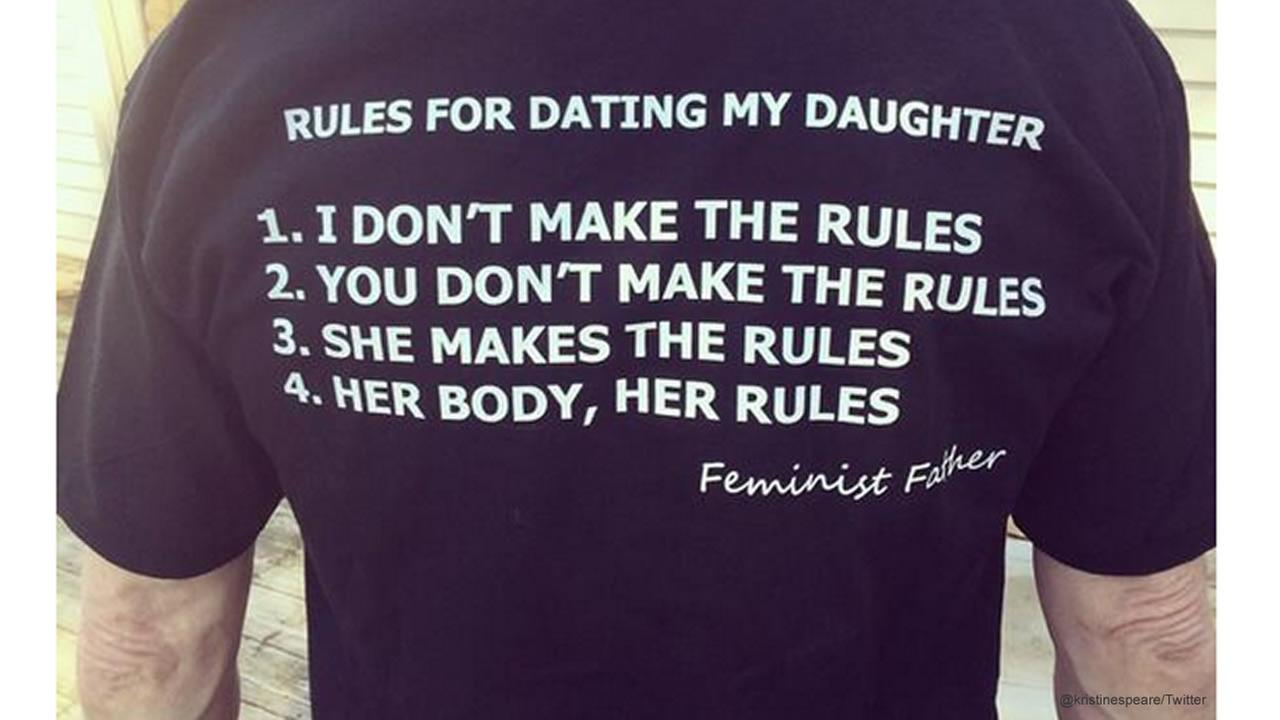 'Feminist Father' has a different take on rules for dating his daughter