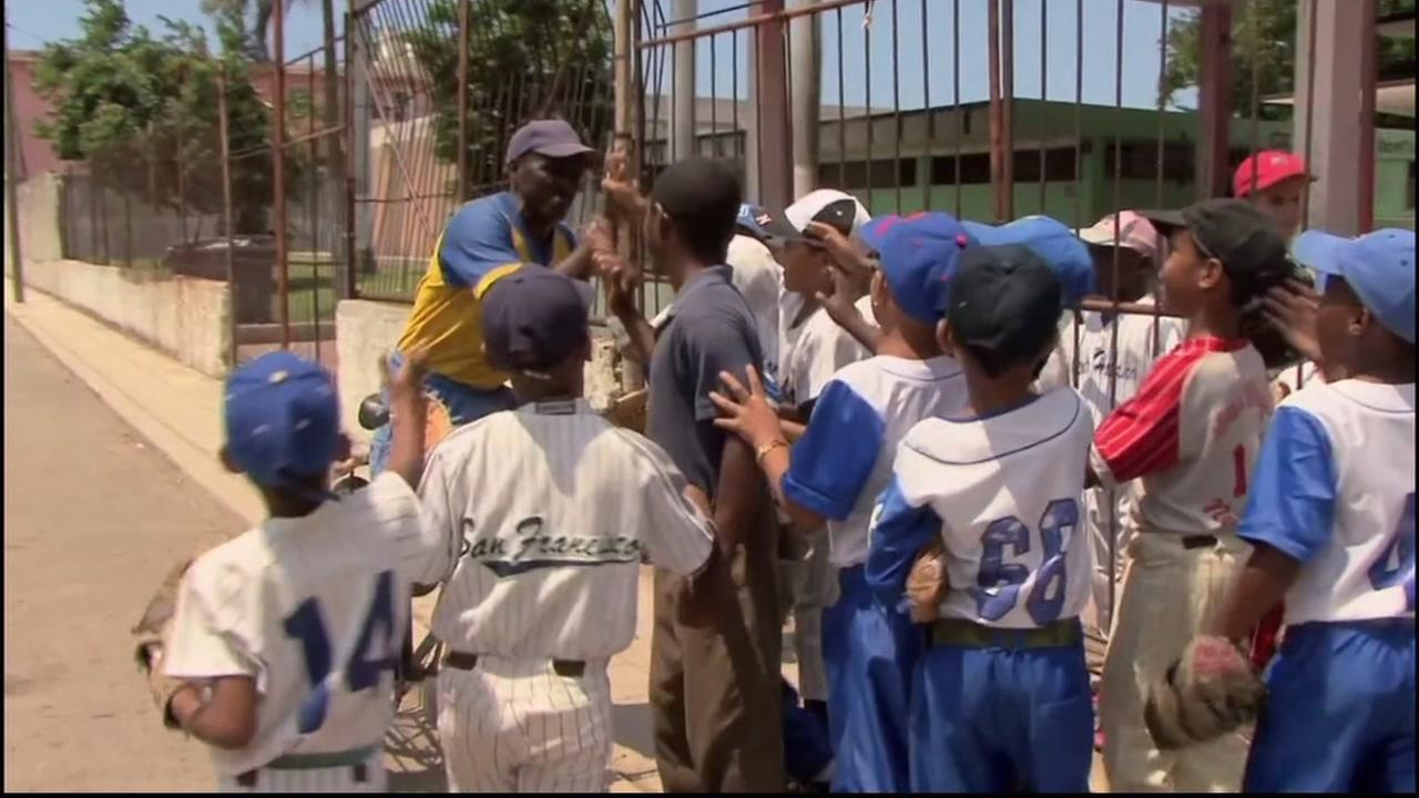 The Oakland Royals got special permission to travel to Cuba and play baseball with the talented young teams there.