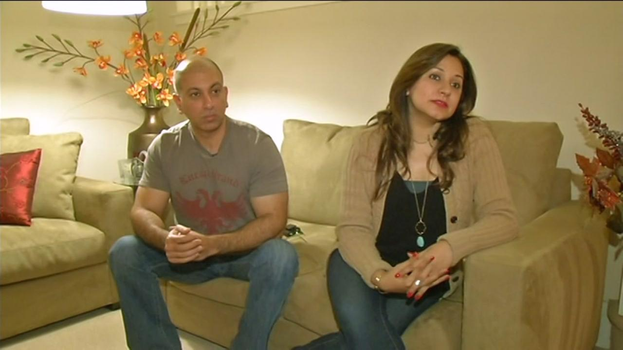 Husband and wife Farhan Jalil and Amna Farhan lived in Lahore before moving to Danville, Calif.