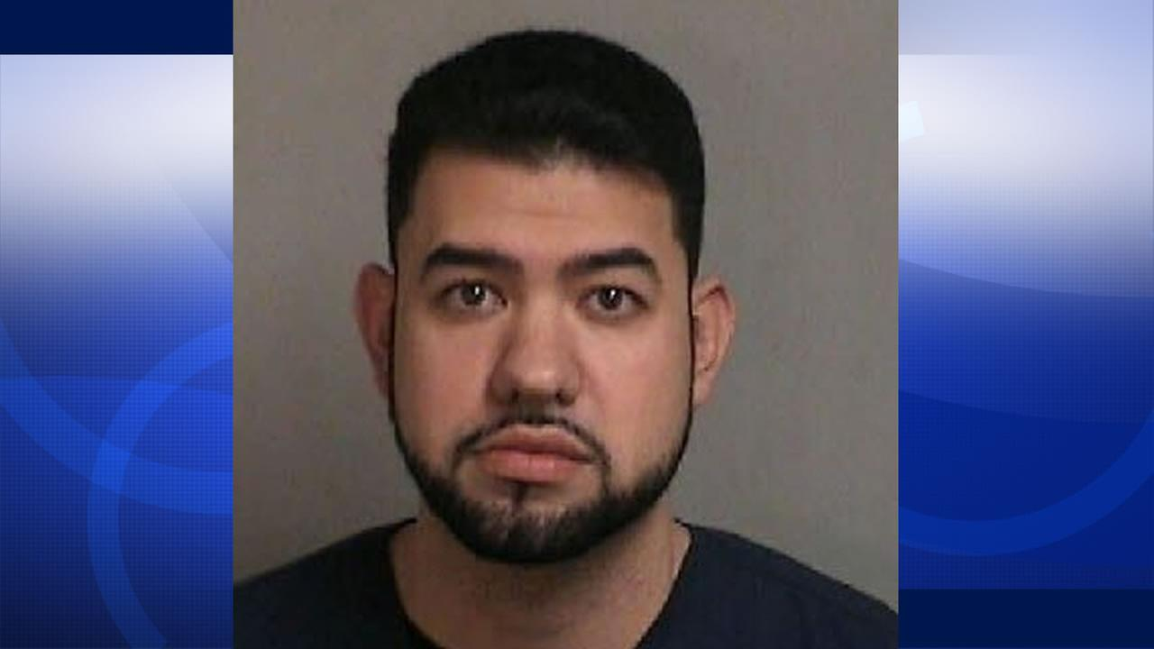 Concord police have released this image of  24-year-old Alejandro Saro April 7, 2016 who was arrested on charges of molesting a sedated 8-year-old girl in a Concord dental office.