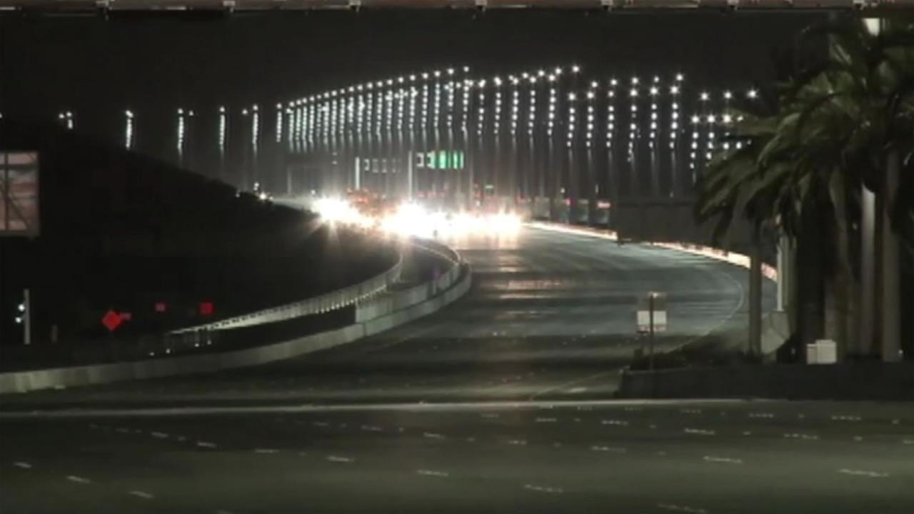 There have been 16 shootings since last November on five Bay Area highways and roads, including on the eastern span of the Bay Bridge.