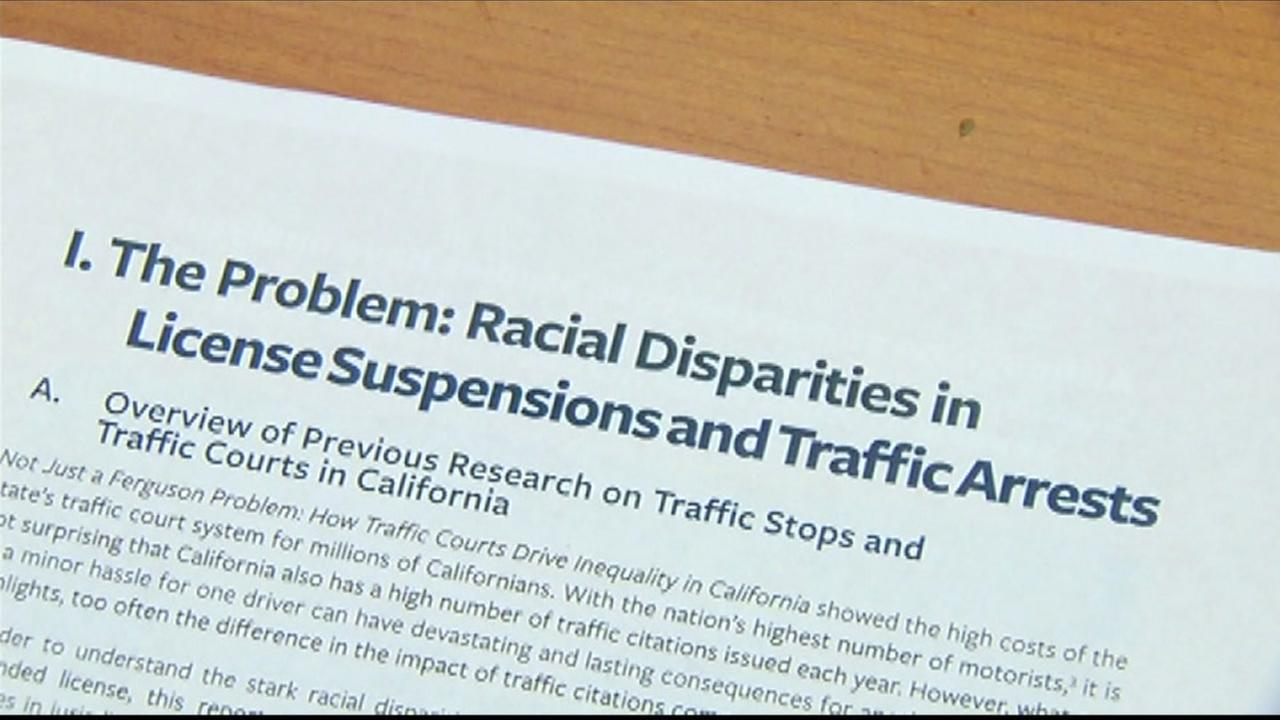 SFs Lawyers Committee for Civil Rights compiled a report showing dramatic racial disparities in drivers license suspensions and traffic-related arrests across California.