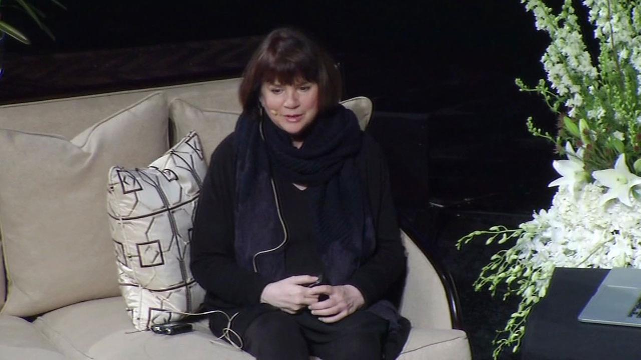 Singer Linda Ronstadt at California Theater in San Jose, California, Monday, April 11, 2016.