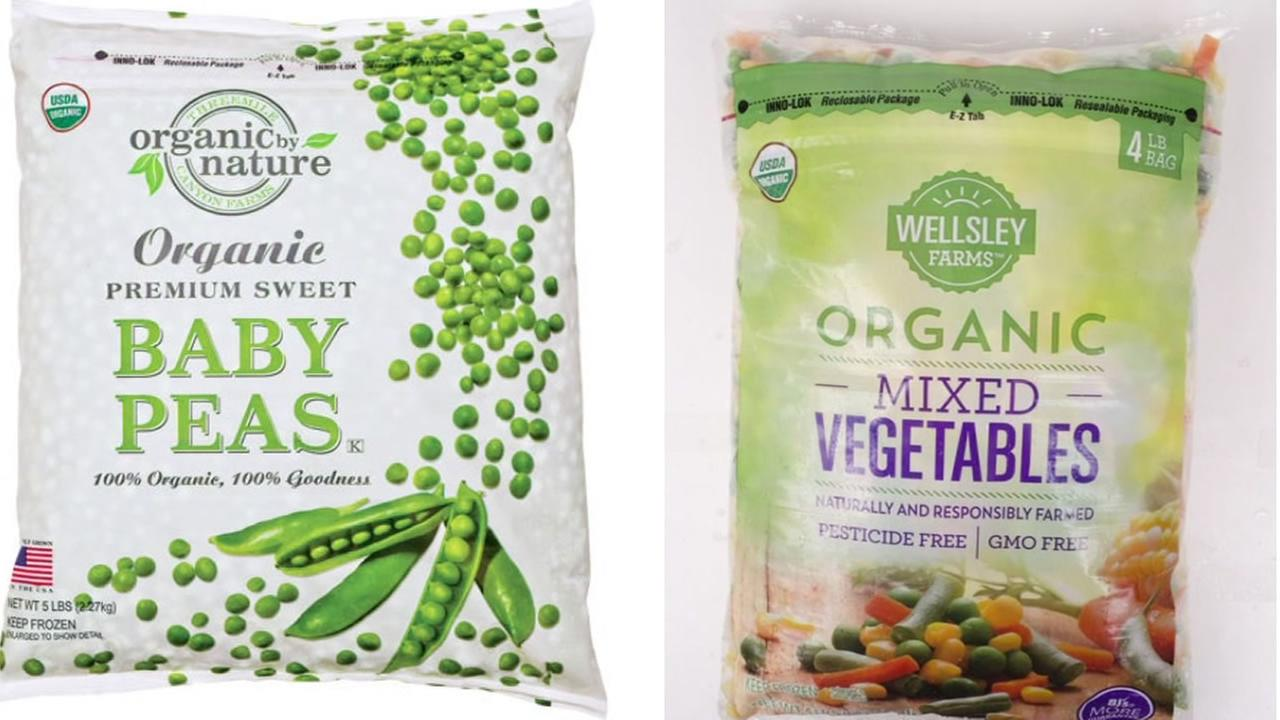 This image shows frozen vegetables that were the recent subject of a recall by CRF Frozen Foods.