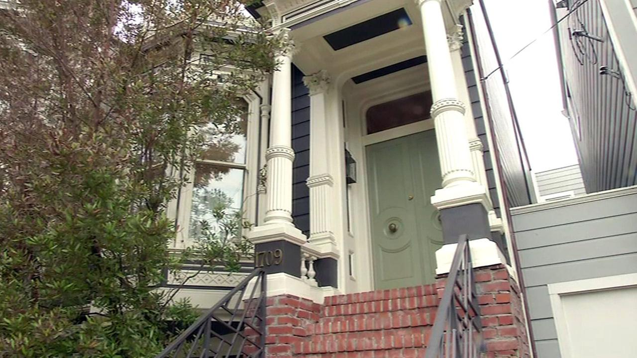 Full House on Broderick Street in San Francisco.
