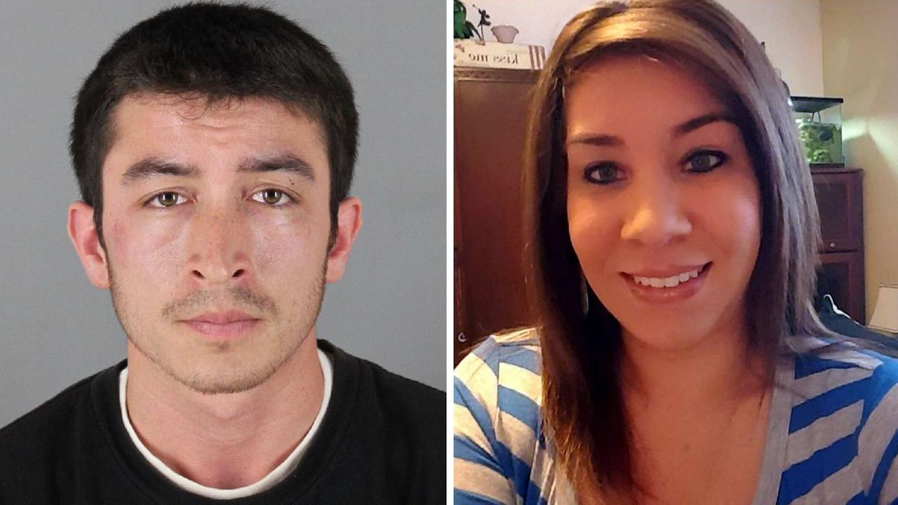 Police say 25-year-old Ricardo Colindres shot 25-year-old Marissa Johnson in the head in Pacifica, Calif. on Wednesday, April 27, 2016.