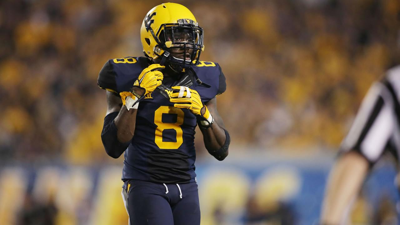 West Virginia safety Karl Joseph (8)during a NCAA college football game, Saturday, Sept. 5, 2015, in Morgantown, W.Va.