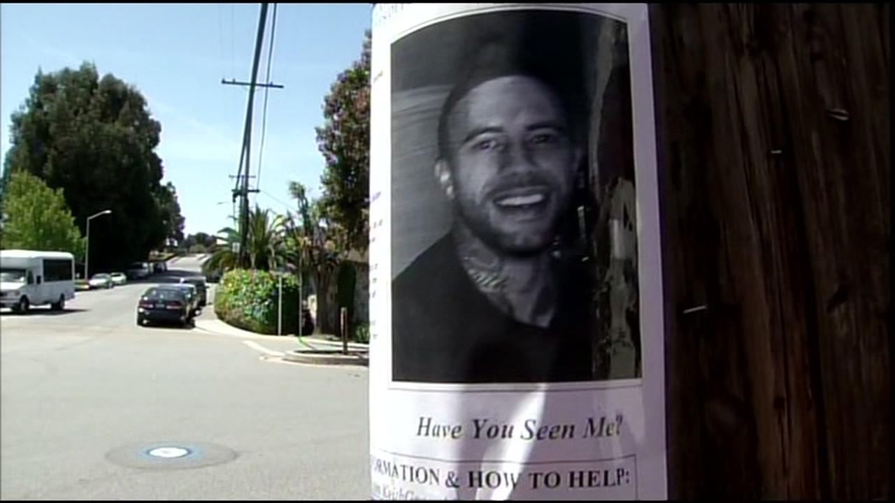 Officials say 27-year-old Keith Green went missing in Millbrae, Calif. on Thursday, April 28, 2016.