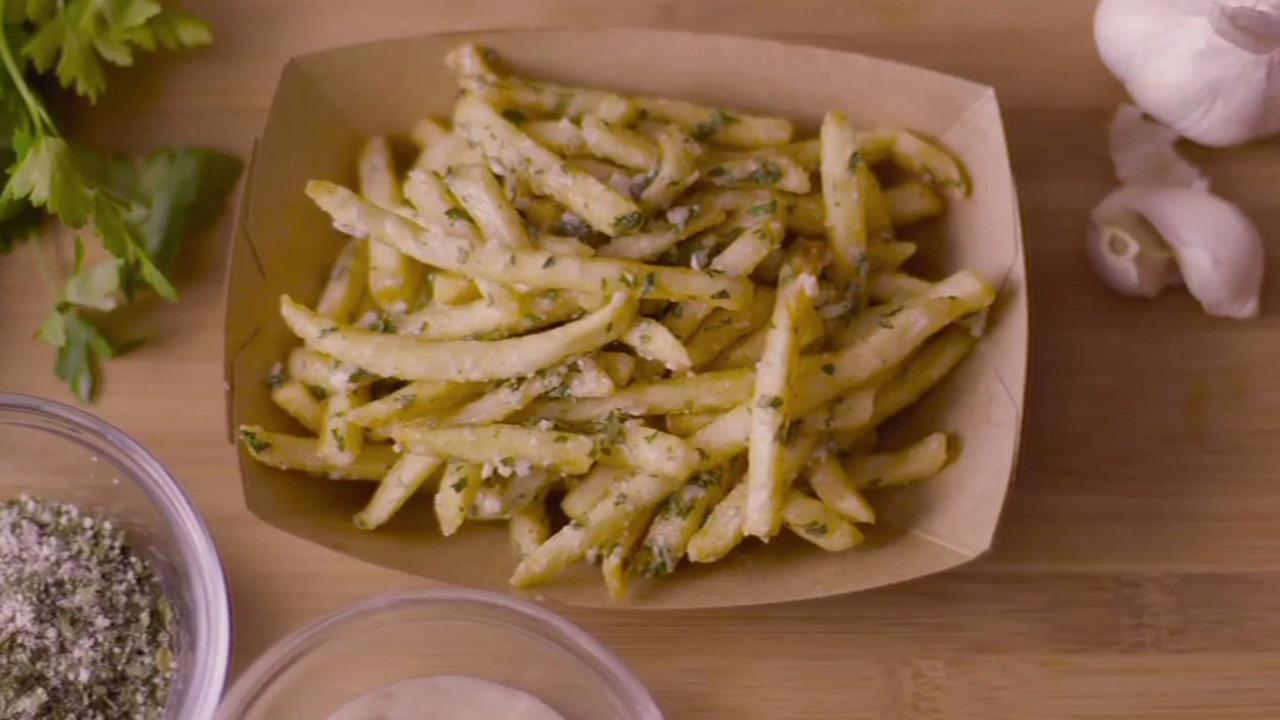 McDonalds Gilroy Garlic Fries