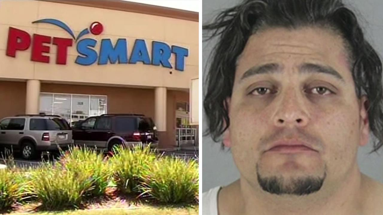 Juan Zarate, 38, was arrested on Sunday, May 15, 2016. Hes accused of killing a dog during a grooming session at PetSmart in San Mateo, Calif.