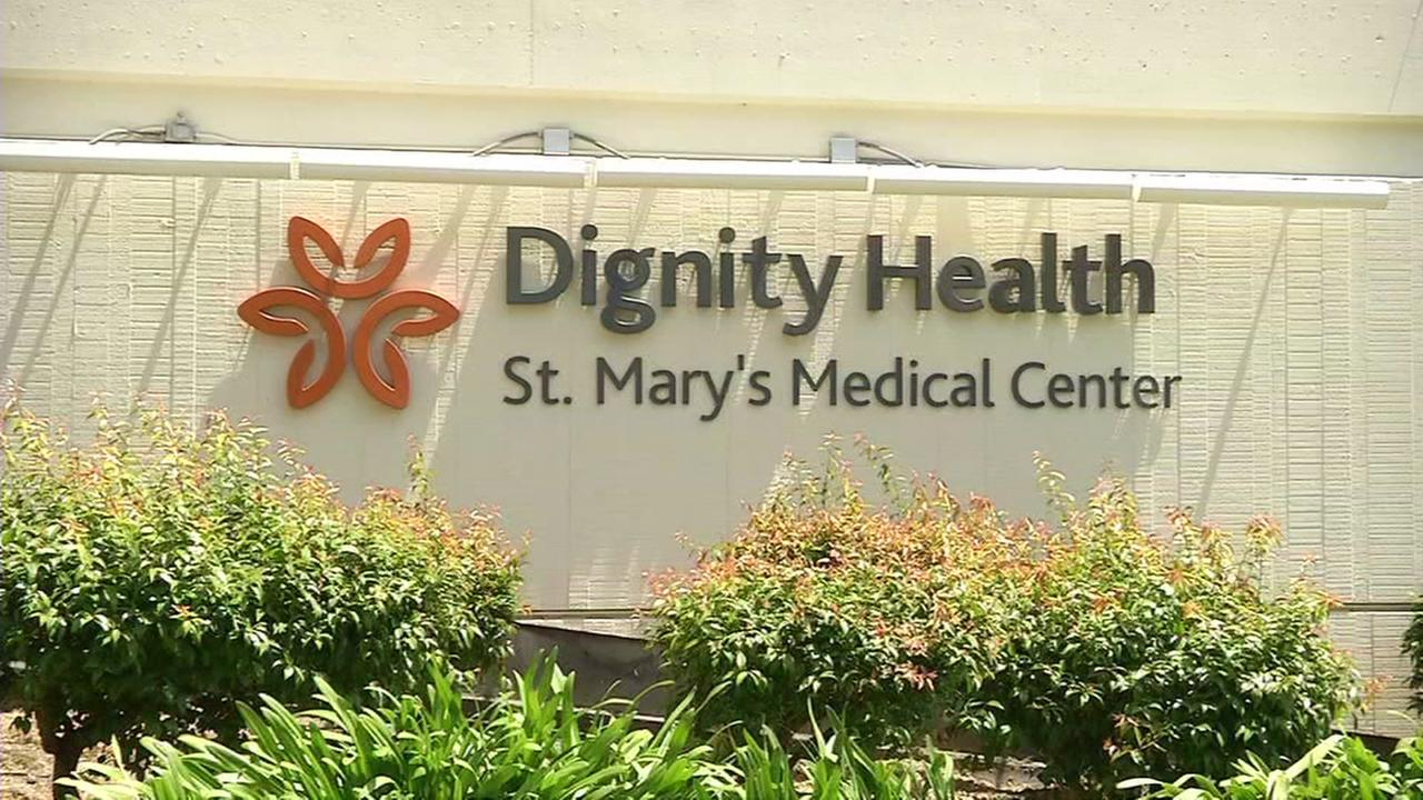 A sign for St. Marys Medical Center in San Francisco is seen on Thursday, May 19, 2016.