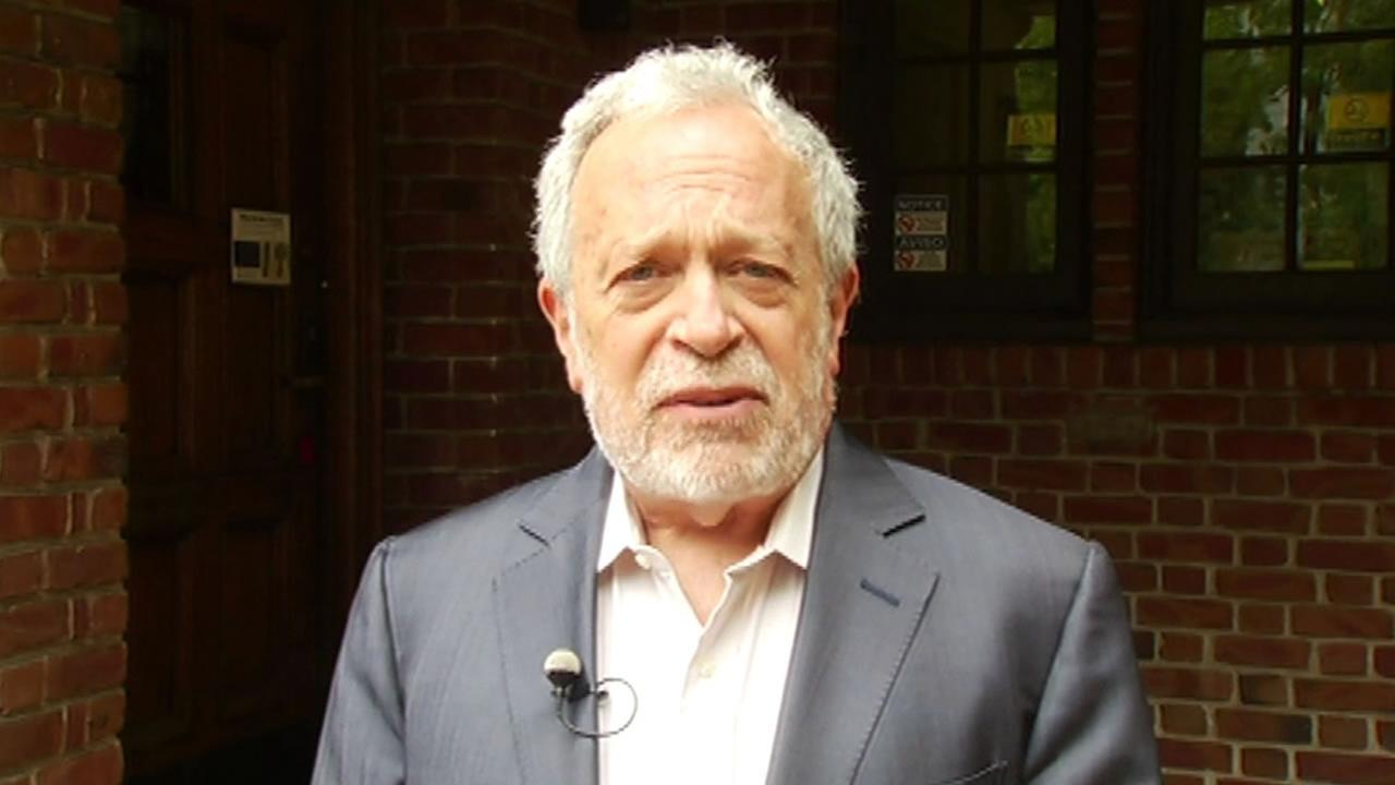 This image shows University of California, Berkeley professor Robert Reich who is a longtime friend to the Clintons. He announced May 24 he is supporting Bernie Sanders.
