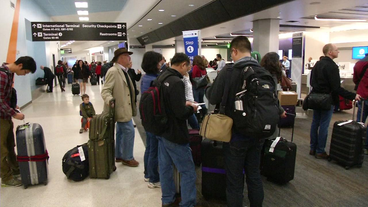 There are long security lines at airports across the nation.