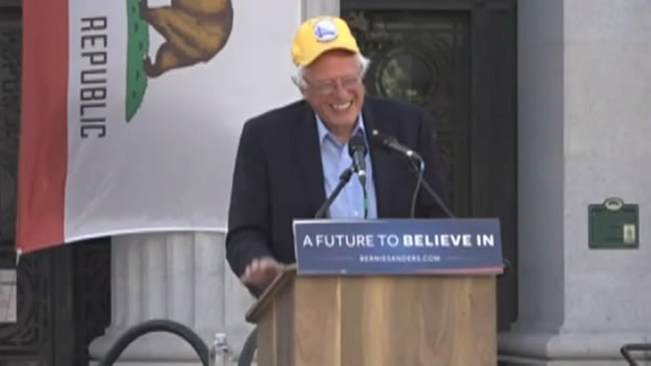 Sanders says campaign isn't over if he doesn't win California