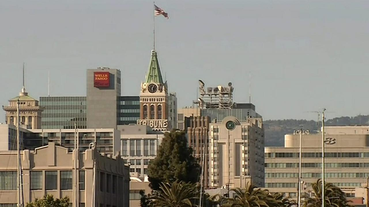 The Oakland Tribune is seen in this undated image.