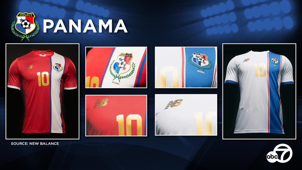 Panama is receiving two new shirts in time for the Copa America.