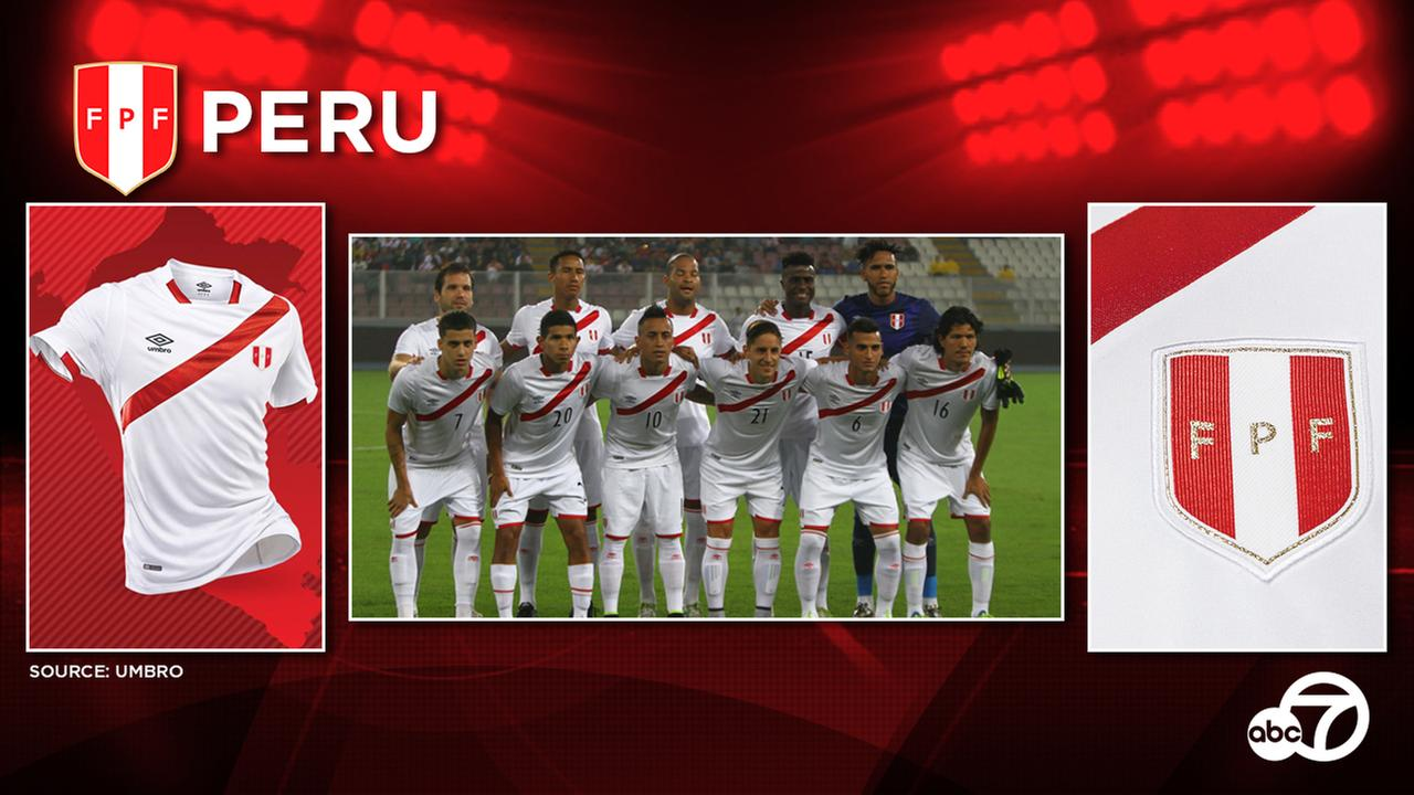 Peru is not expected to unveil new kits between now and the start of Copa America Centenario.