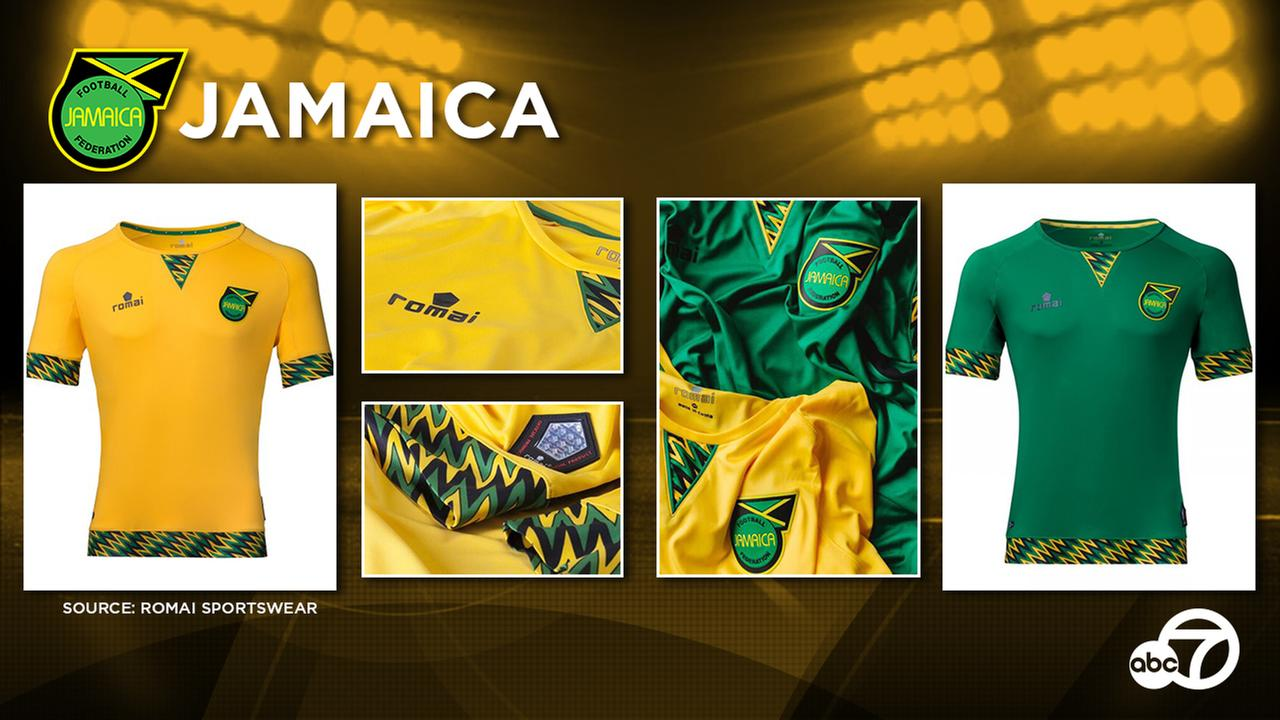 Having already participated in the 2015 edition of Copa America, Jamaica is expected to again sport the unique kits unveiled by Romai Sports last May.