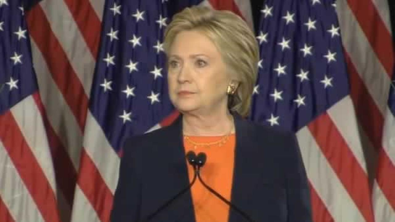 Hillary Clinton speaks on foreign policy in San Diego, Calif. on Thursday, June 2, 2016.