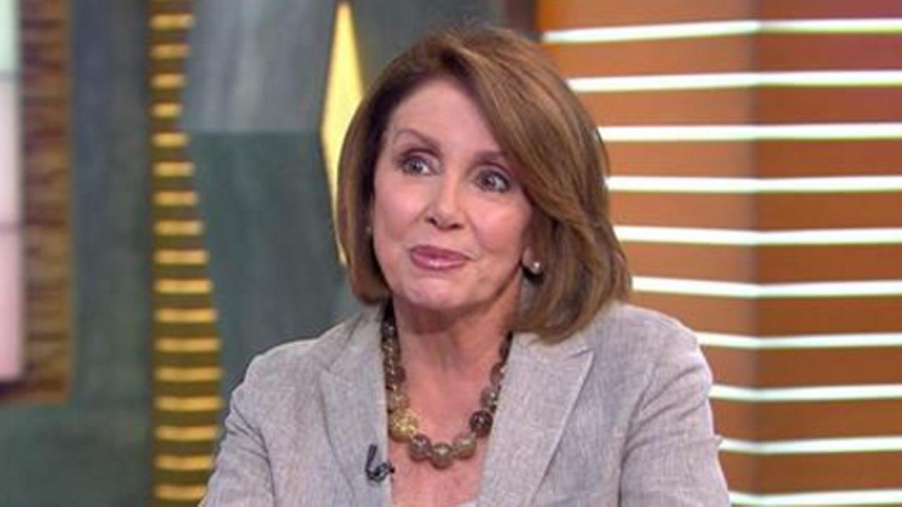 House Minority Leader Nancy Pelosi on Good Morning America, Tuesday, June 7, 2016.