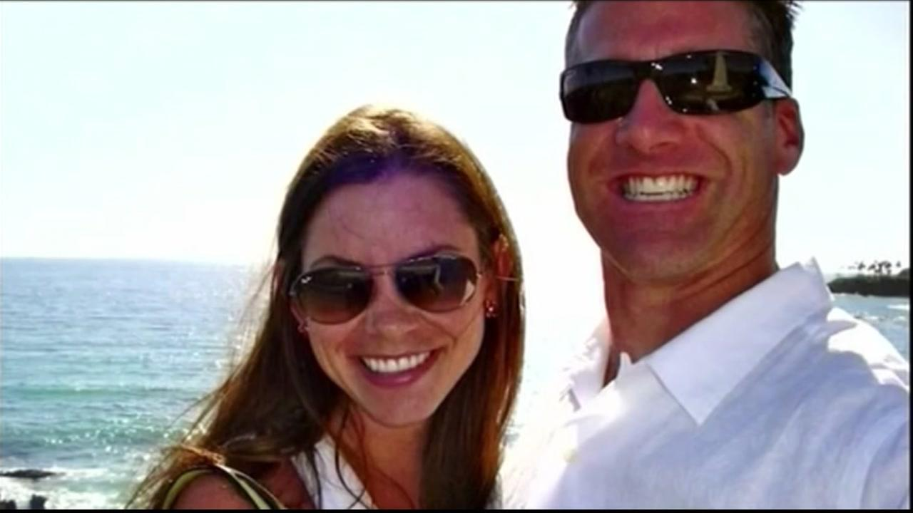 This undated image shows Brittany Maynard and her husband Dan Diaz.