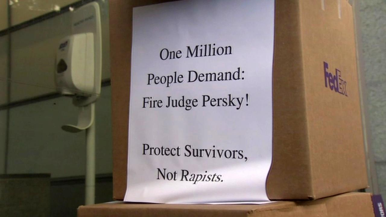 Petitions to recall judge in Stanford sexual assault case, Friday, June 10, 2016.