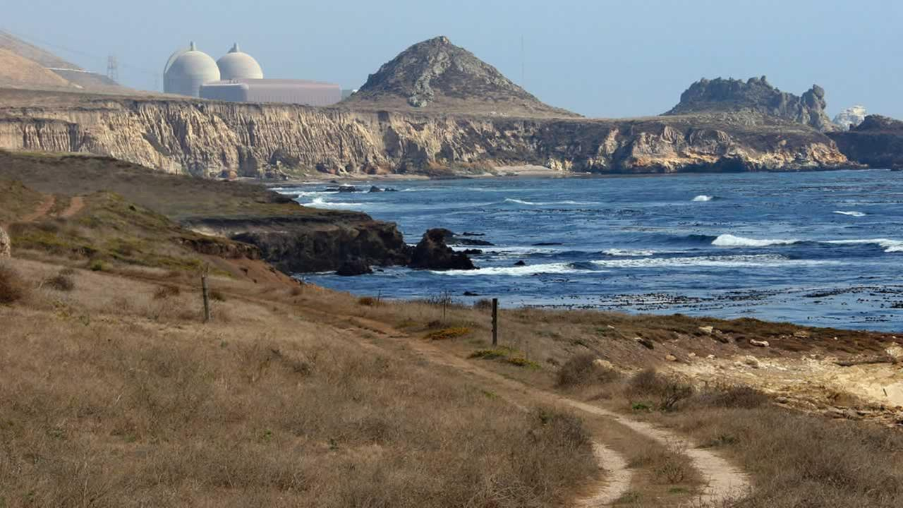 This Sept. 20, 2005, file photo shows the Diablo Canyon Nuclear Power Plant, south of Los Osos, Calif.