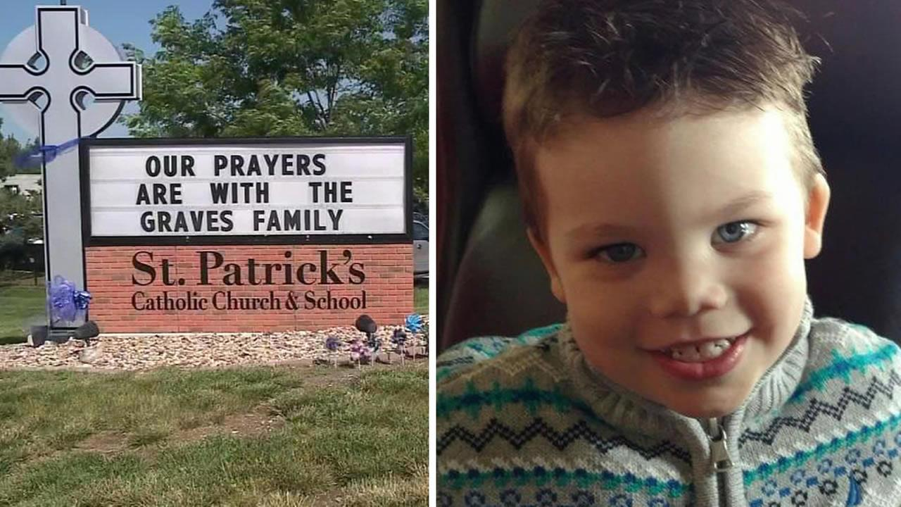 Funeral services were held Tuesday, June 21, 2016 in Omaha, Neb. for Lanes Graves, the 2-year-old boy who was killed by a gator at Walt Disney World.