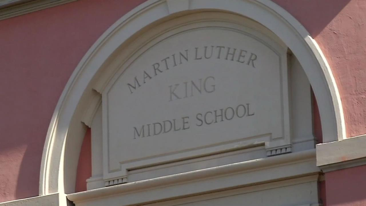 Martin Luther King Jr. Middle School in Berkeley, Calif.
