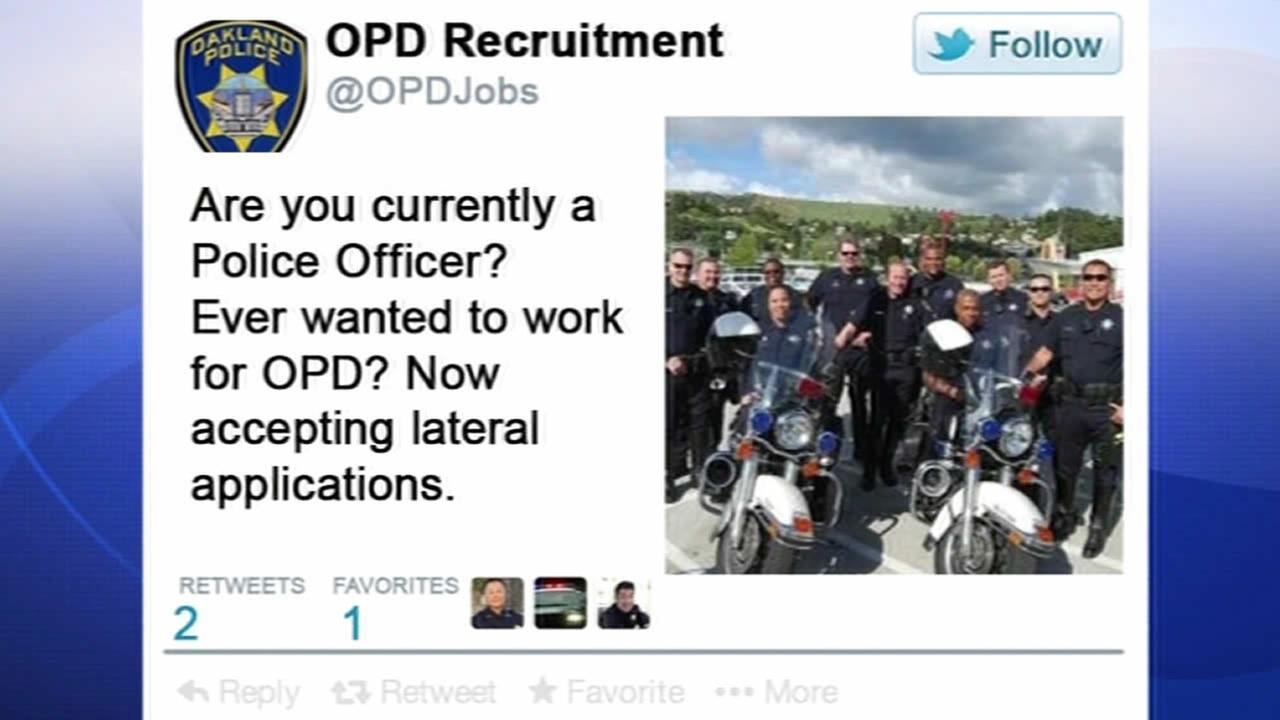 Oakland Police social media