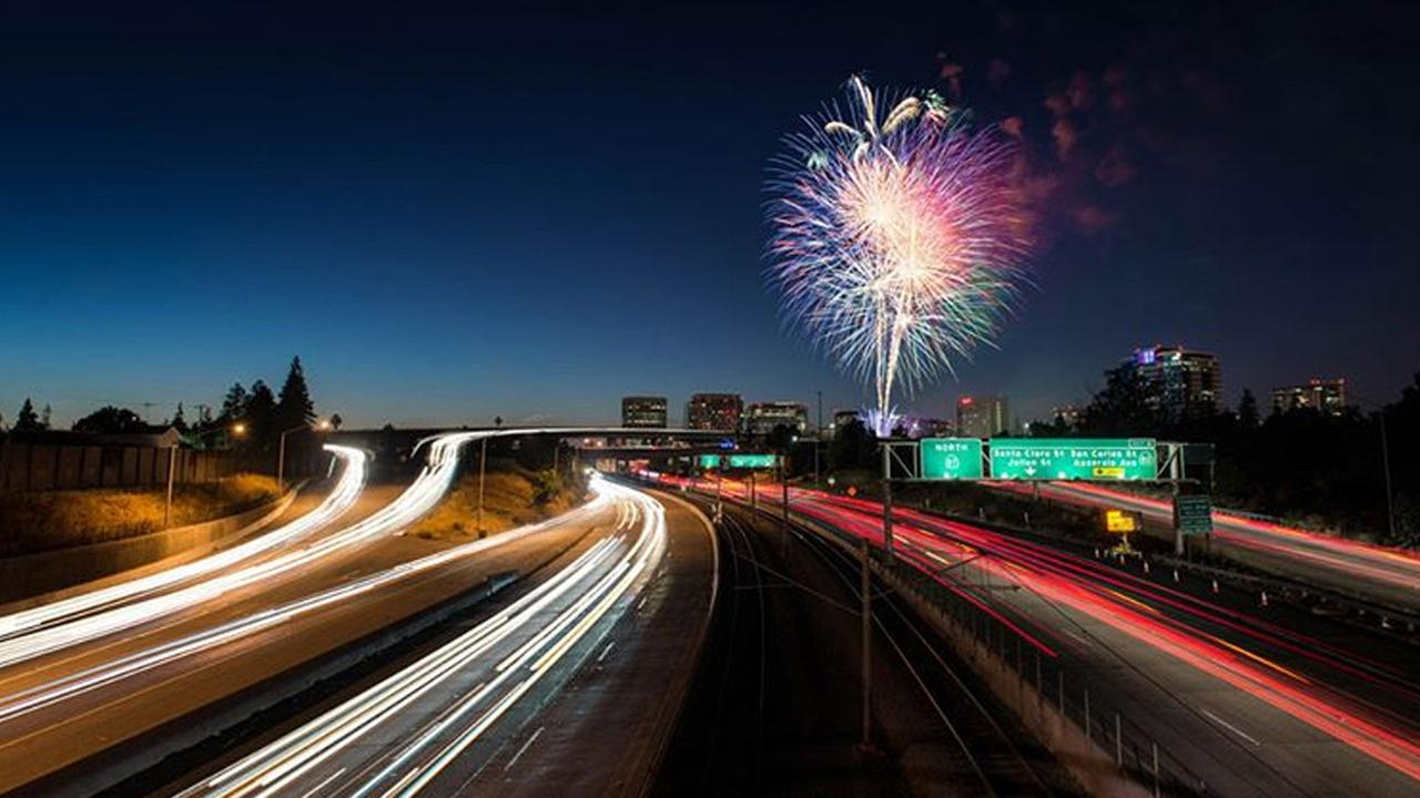 4th of July fireworks in San Jose!  Thanks for sharing this photo with ABC7.Photo sent to KGO-TV by wilsonlam/Instagram